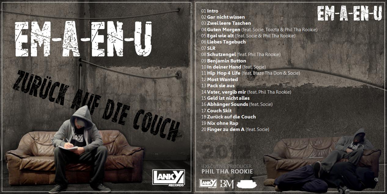 Em-A-En-U - Zurück auf die Couch (Back)